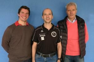 v.l.n.r.: Scharf, Huber, Svoboda