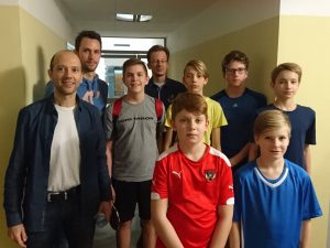 Gymnasium Mattersburg bei den Schulolympics