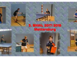3. BNWL erstmals in Mattersburg